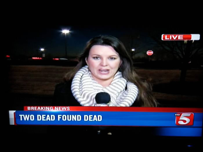 news caption, two dead found dead
