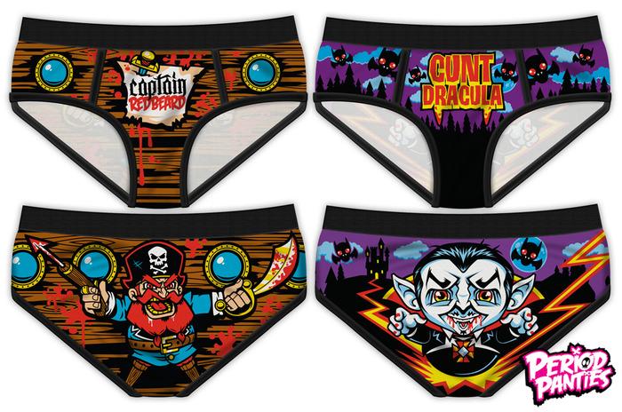 period panties, product