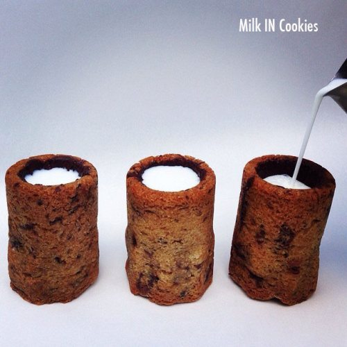 milk in cookies