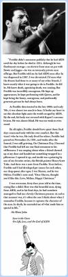 a story about freddie mercury by elton john, aids, kindness