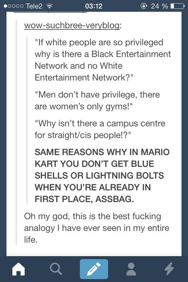 same reasons why in mario kart you don't get blue shells or lightning bolts when you're already in first place