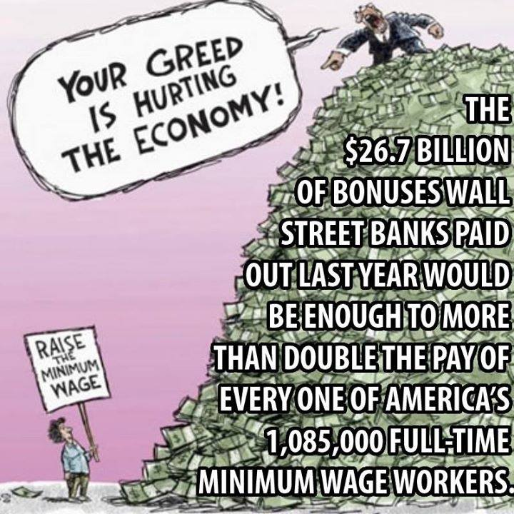 the 99%, your greed is hurting the economy, hypocrisy