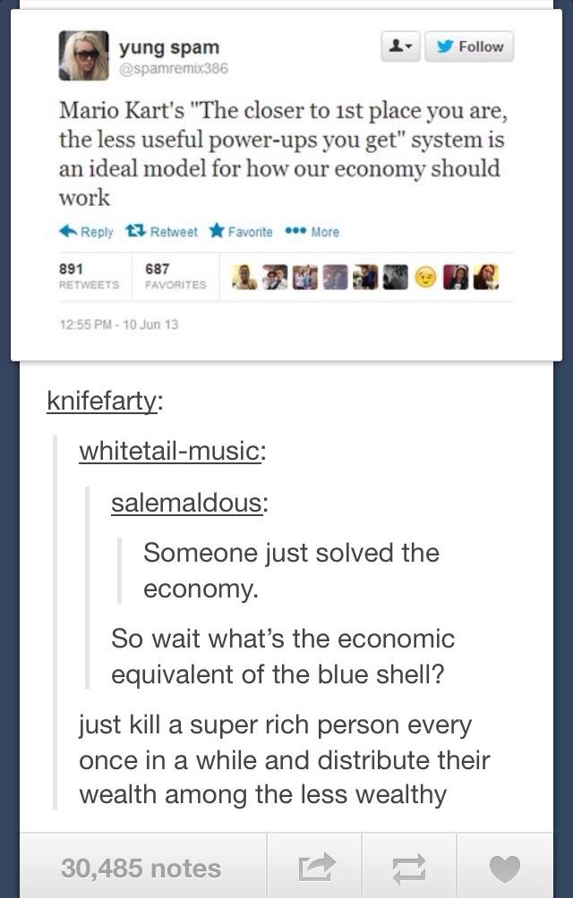 mario kart as the best economic model
