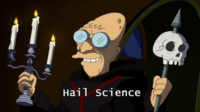 hail science, professor farnsworth, futurama