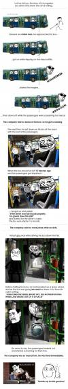 let me tell you about a hungarian bus driver who knew the art of trolling, prank, lol