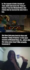 time paradox in the legend of zelda: ocarina of time