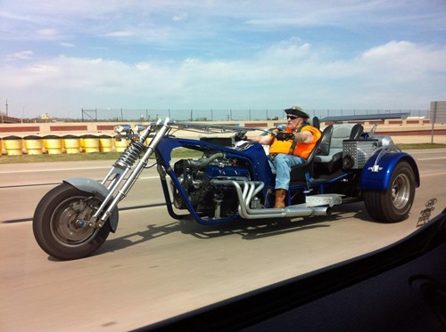 motorcycle car, wtf, 'murica