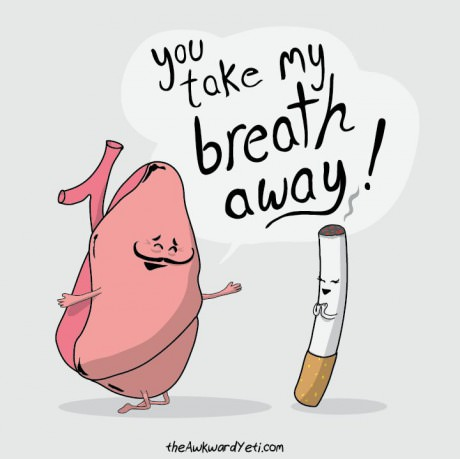 you take my breath away, lung and cigarette
