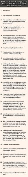 20 of the weirdest things about america that americans don't realize are weird, list