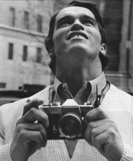 1968 - arnold schwarzenegger in new york for the first time