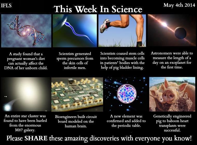 this week in science, news
