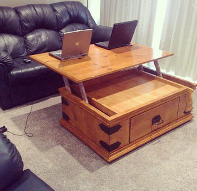 coffee table design win, cool furniture