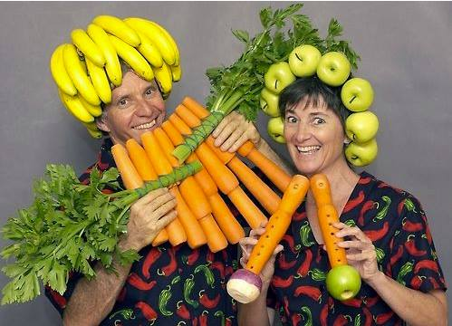 wtf of the day, bananas and vegetable instruments
