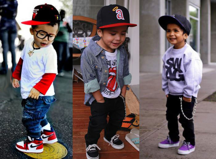 single mothers love dressing their kids like the men who left them, swag