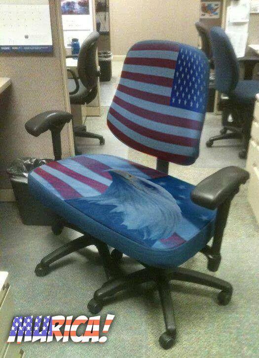 murica fat ass chair