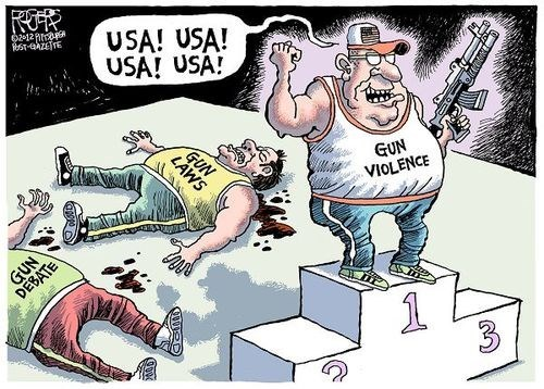 gun violence in the usa