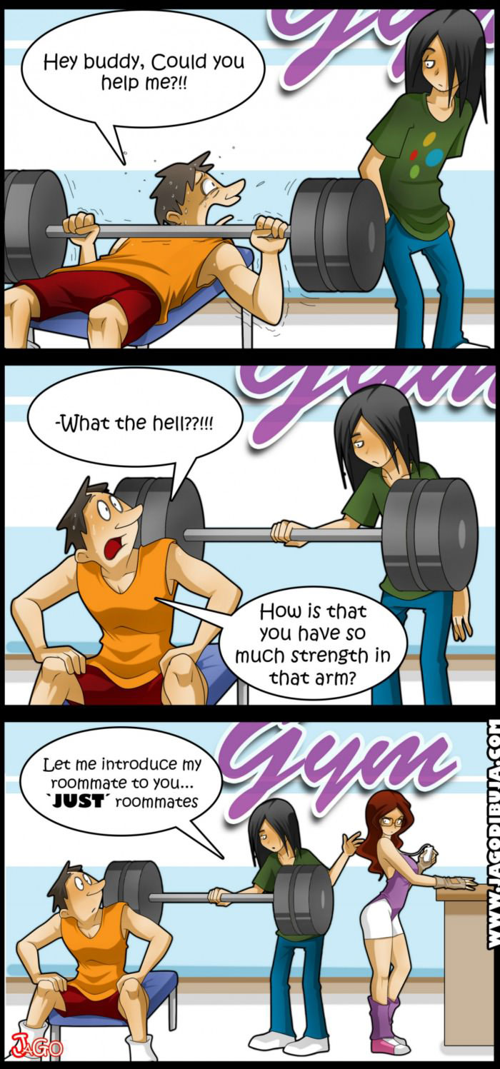 Image Fap Comics Ele let me introduce you to my roommate - justpost: virtually entertaining