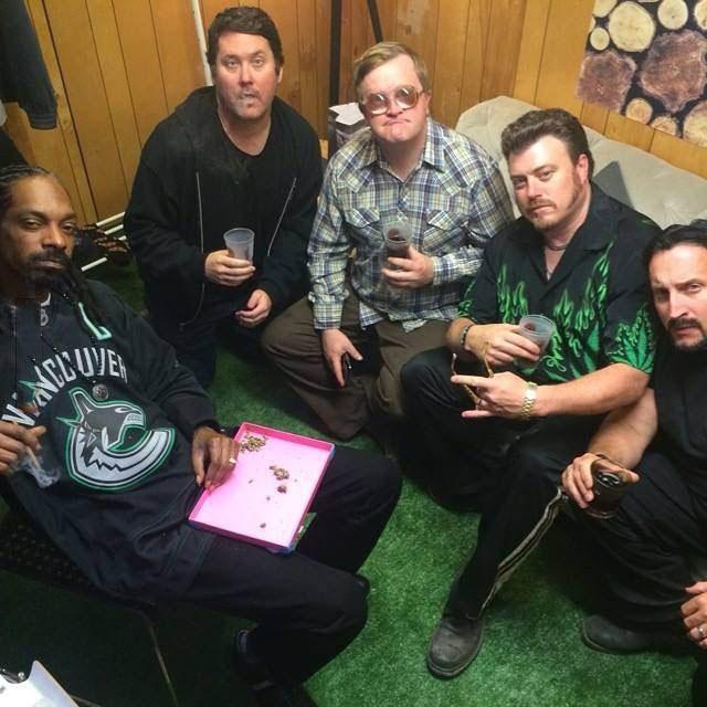 the highest meeting ever, trailer park boys, snoop dog