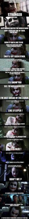 after re-watching the dark knight i realize joker has a point about humans