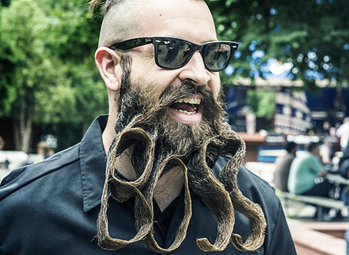 manicuring your beard like a boss