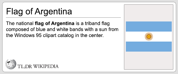 the national flag of argentina is a triband flag composed of blue and white bands with a sun from the windows 95 clipart catalog in the center, tldr wikipedia