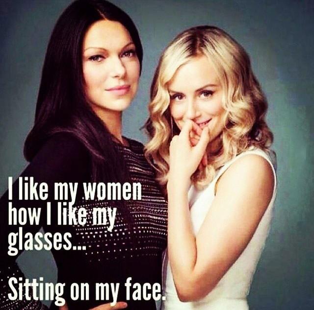 i like my women how i like my glasses, sitting on my face