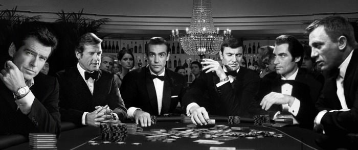 who do you think would bluff first?, james bond