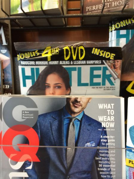 magazine cover looks like it says hitler, fail