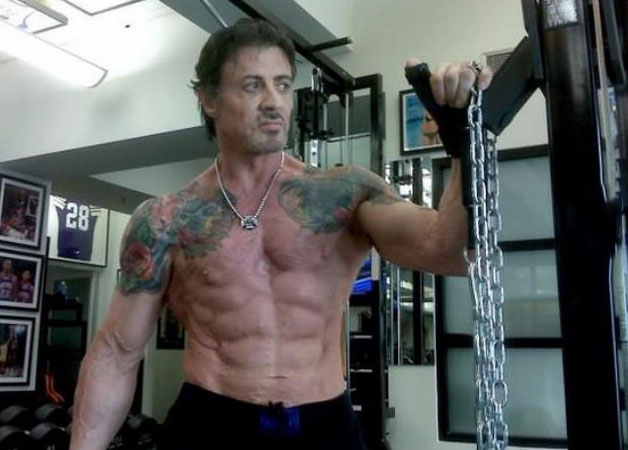 sylvester stallone at 68 years olds
