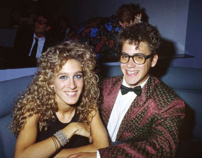 sara jessica parker and robert downey junior in the 90s
