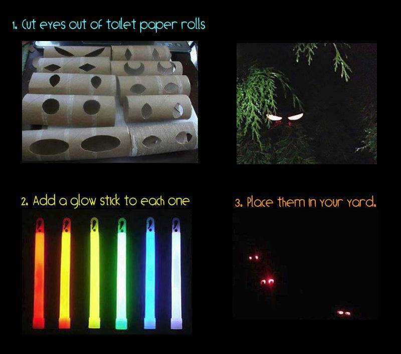 Toilet Paper Rolls Make Halloween Crafts Endlessly Waffle