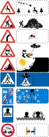 uncropped road signs, you will never see these road signs the same way again