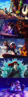 grumpy cat if he were the main character in disney movies