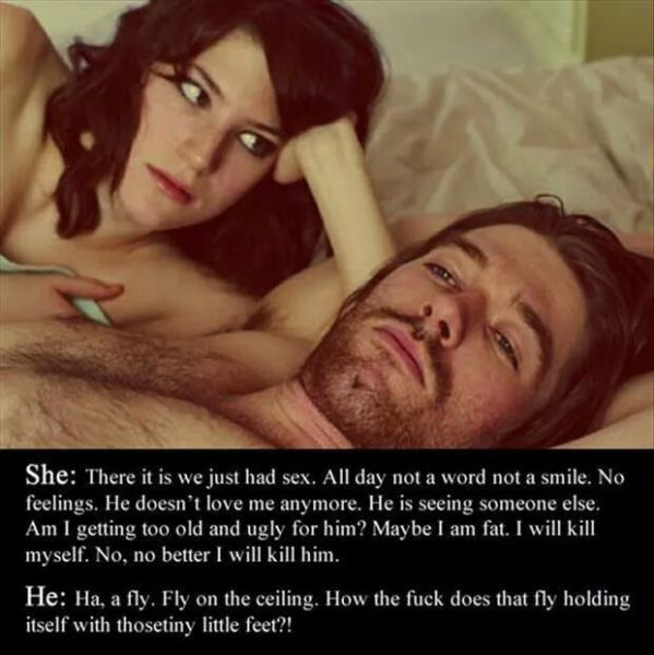 the difference between men and women