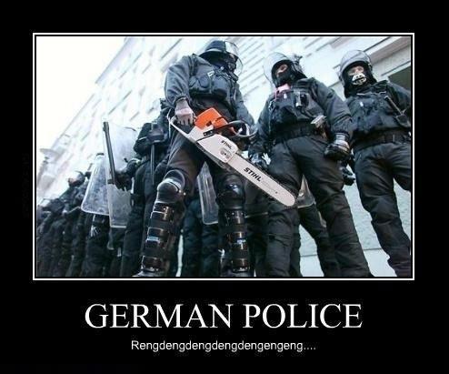 german police, rengdengdengdengdengeng, motivation