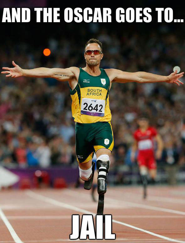 and the oscar goes to jail, meme, oscar pistorius