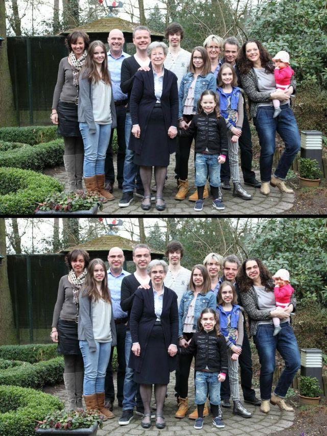 family portrait face swap, lol, photoshop