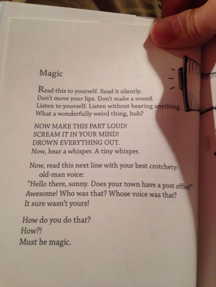 magic is all in your mind, read this book page