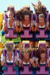 why i love oktoberfest in germany, cleavage on theme park ride