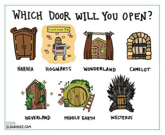 which door will you open?, game