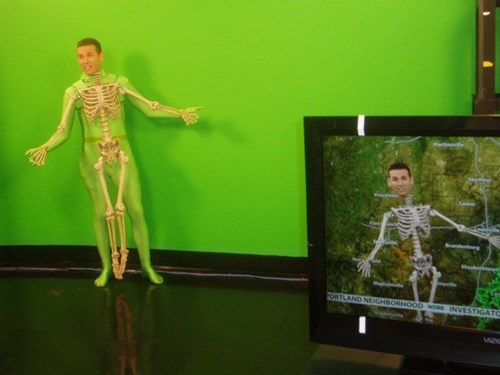 best halloween costume for a weather anchor ever