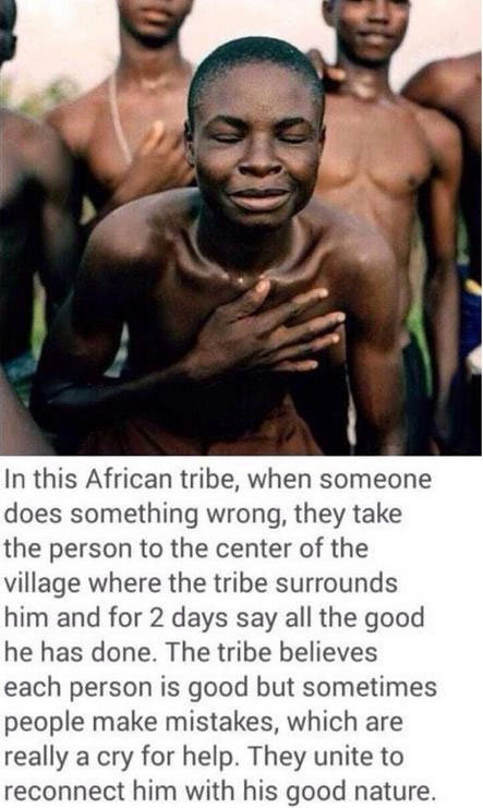how this african tribe deals with their deviants will surprise and delight you beyond words