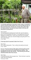 father writes a letter to his son in prison, an old italian gentleman lived alone, he wanted to plant his annual tomato garden