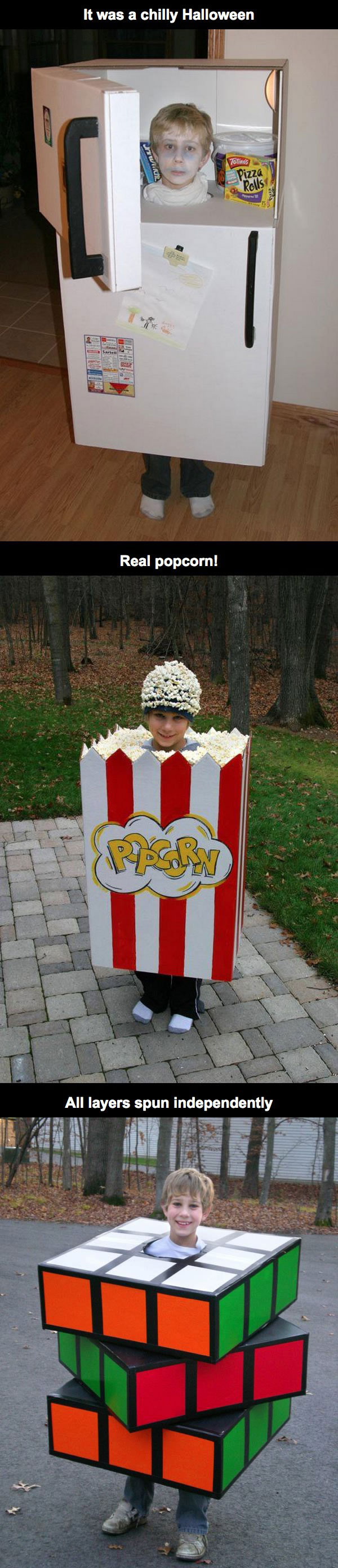three box based halloween costume ideas for kids