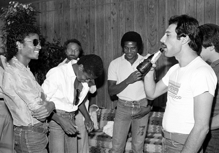 the king and the queen, michael jackson, freddie mercury