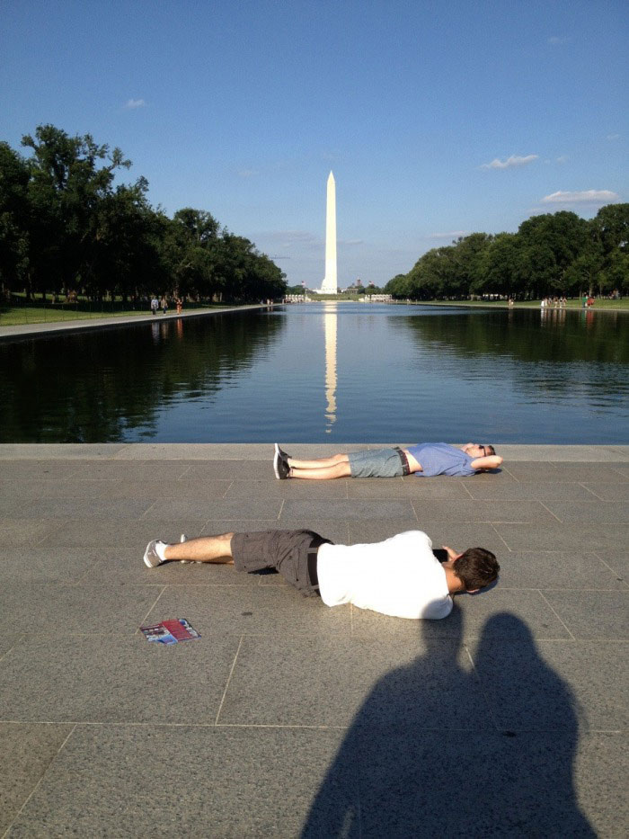when tourists visit washington, i see what you are doing there