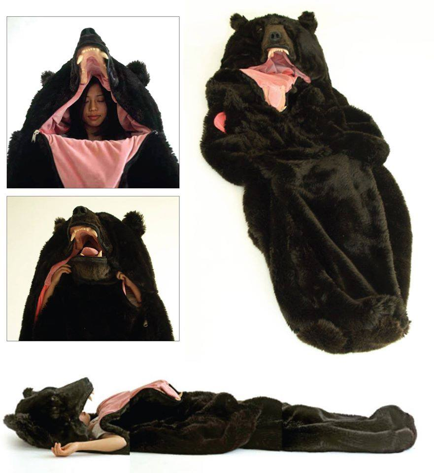Grizzly Bear Sleeping Bag - JustPost: Virtually entertaining