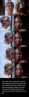 biggus dickus scene from monty python's the holy grail