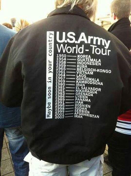 us army world tour jacket