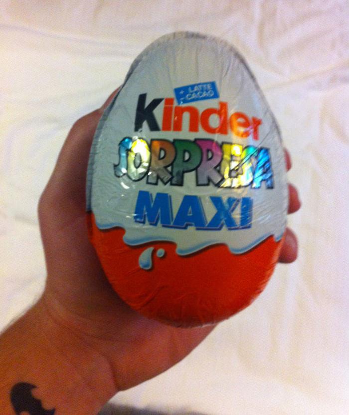 kinder surprise maxi, mexico
